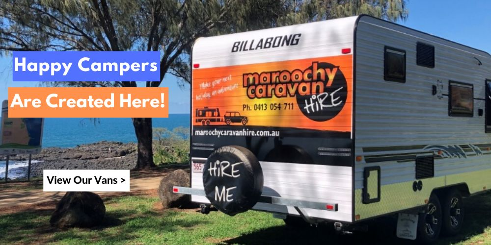 Home page banner – caravan hire sunshine coast