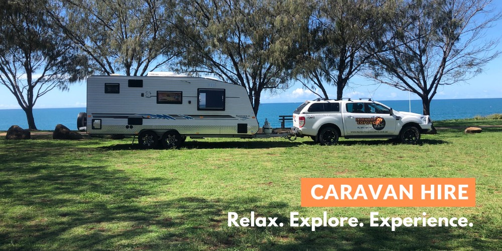 page header image caravan rental sunshine coast. Relax, explore, experience.