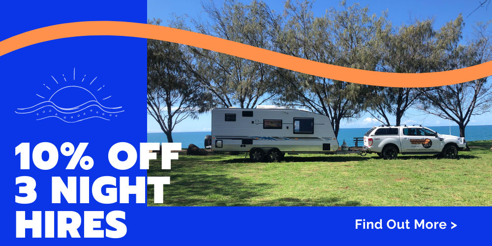 caravan hire 10% off 3 night hires - noosa, mooloolaba and all of sunshine coast