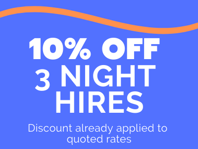 caravan rental sunshine coast - get 10% off 3 night hires